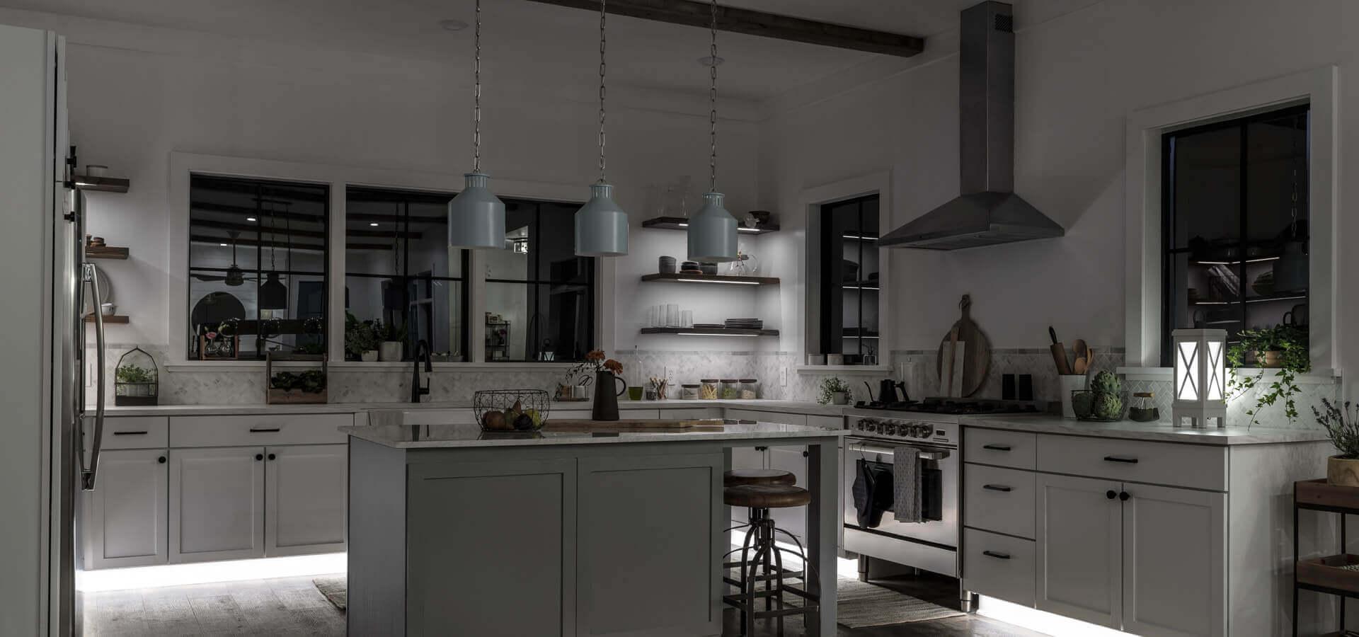 Kitchen Counter Decor Elegant