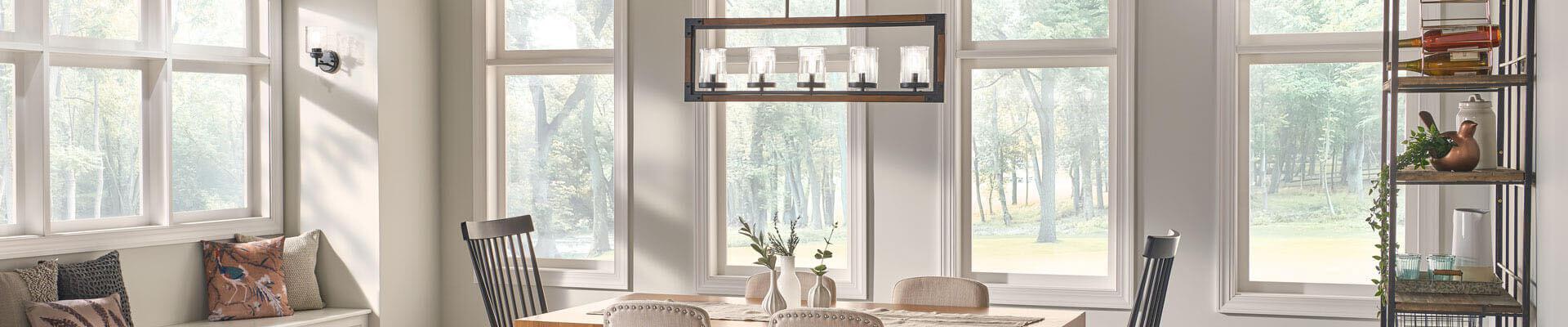 Dining Room Cleara Kichler Lighting