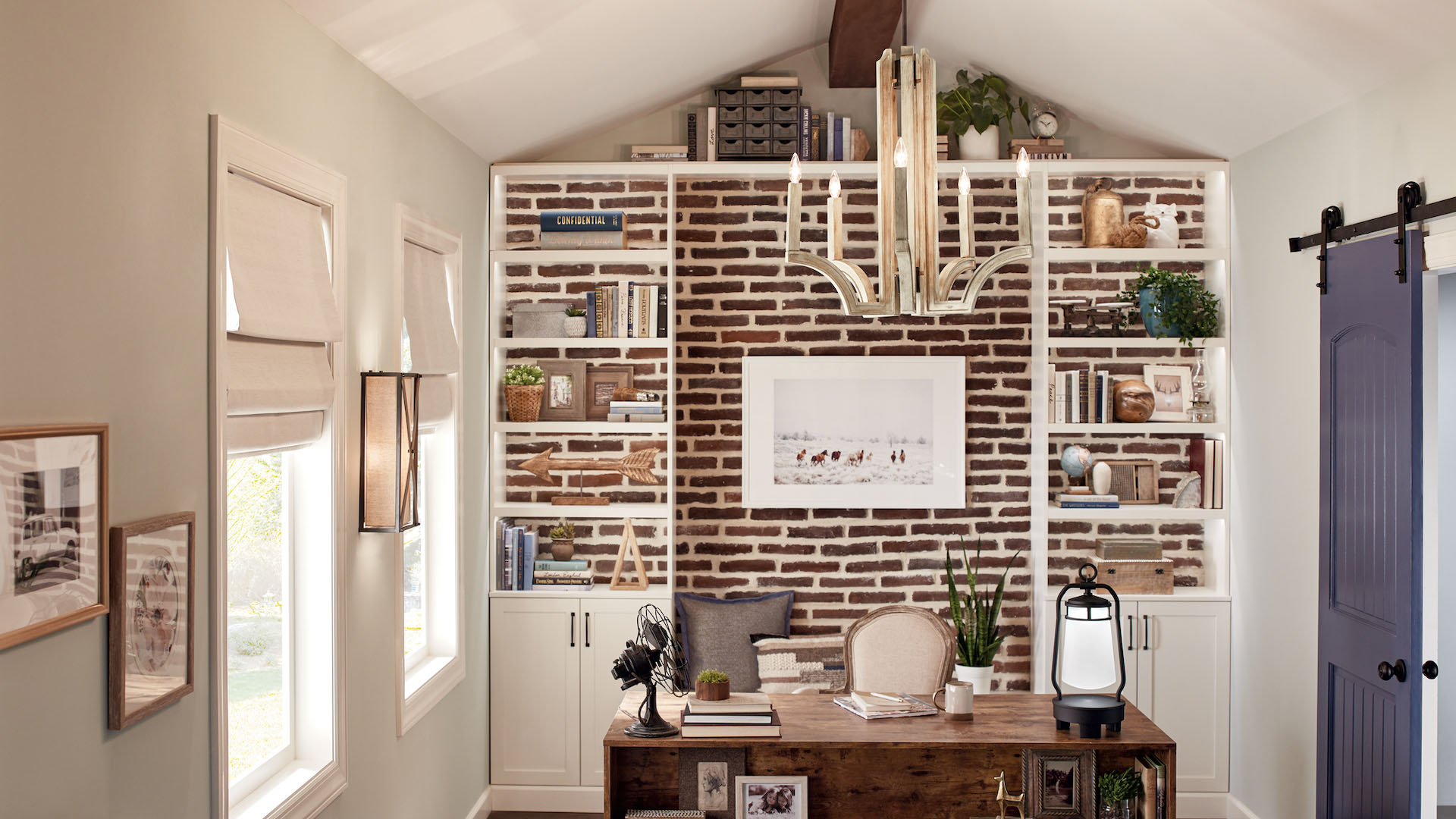 Home Office Space Ideas Kichler Lighting
