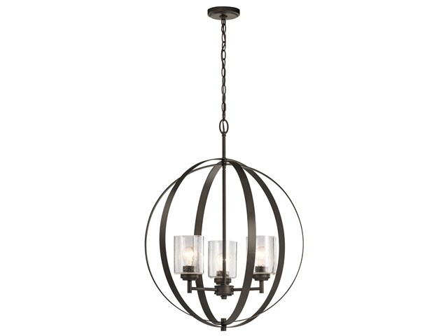 Winslow™ 3 Light Ord Chandelier Olde Bronze®