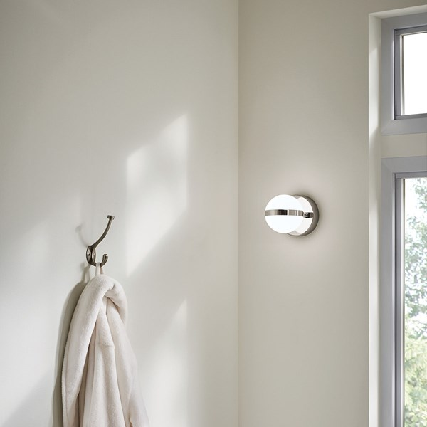 "Brettin LED 3000K 5.25"" Wall Sconce Polished Nickel"