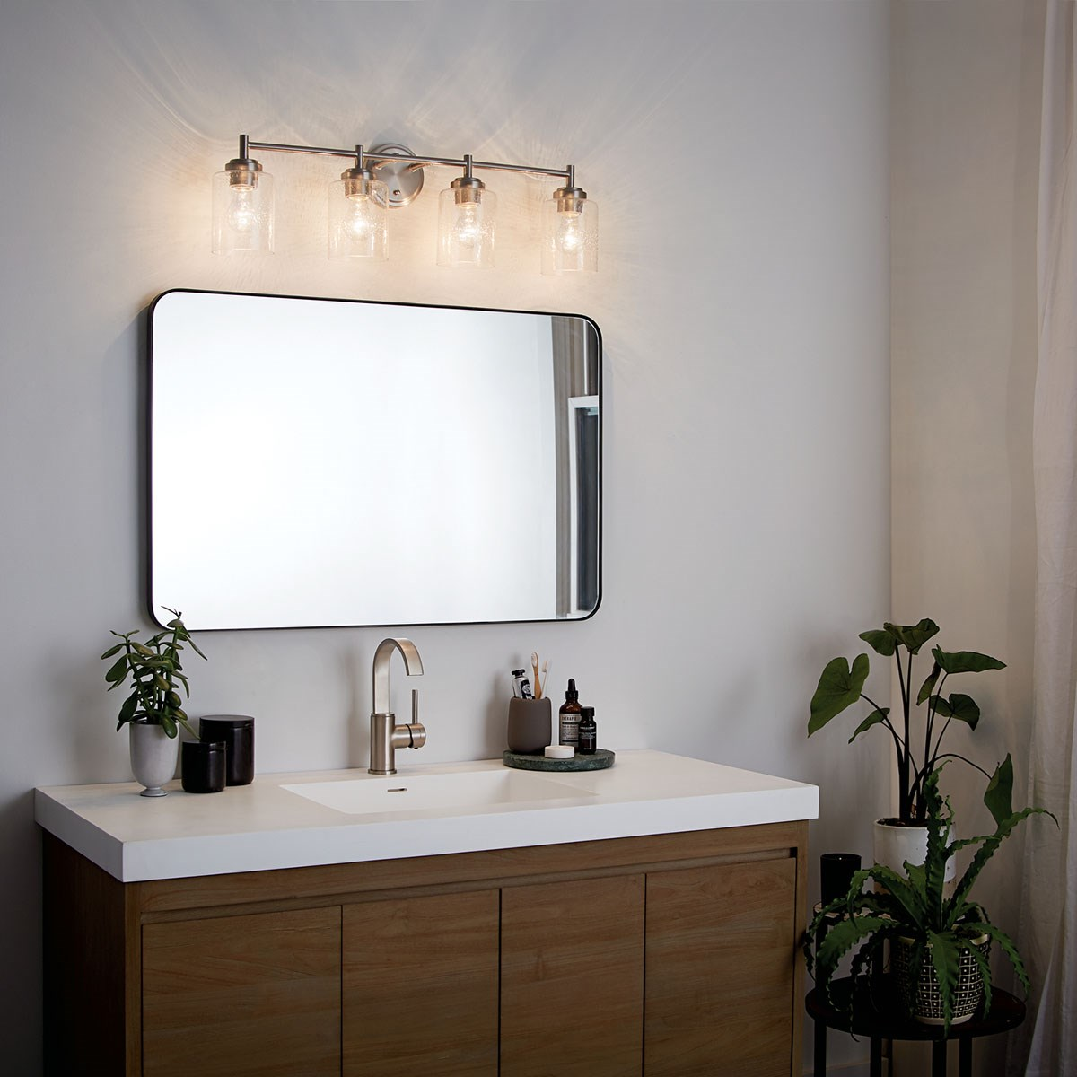Winslow 4 Light Vanity Light Brushed Nickel Kichler Lighting