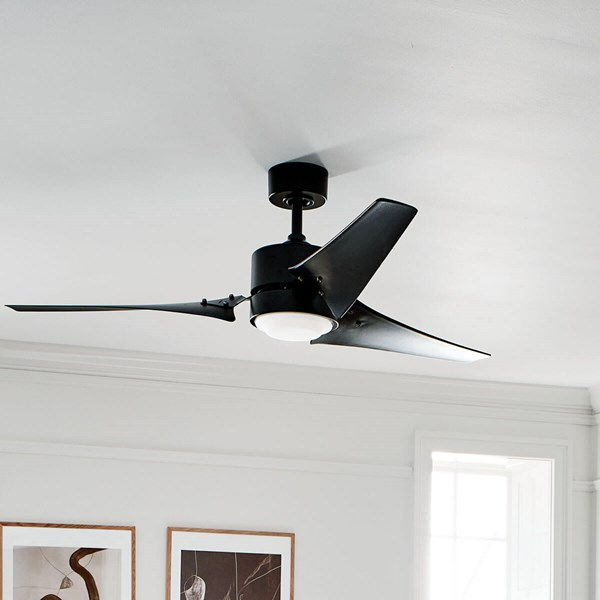 "Rana™ LED 60"" Fan Satin Black"