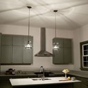 Tanis™ 1 Light Pendant Auburn Stained
