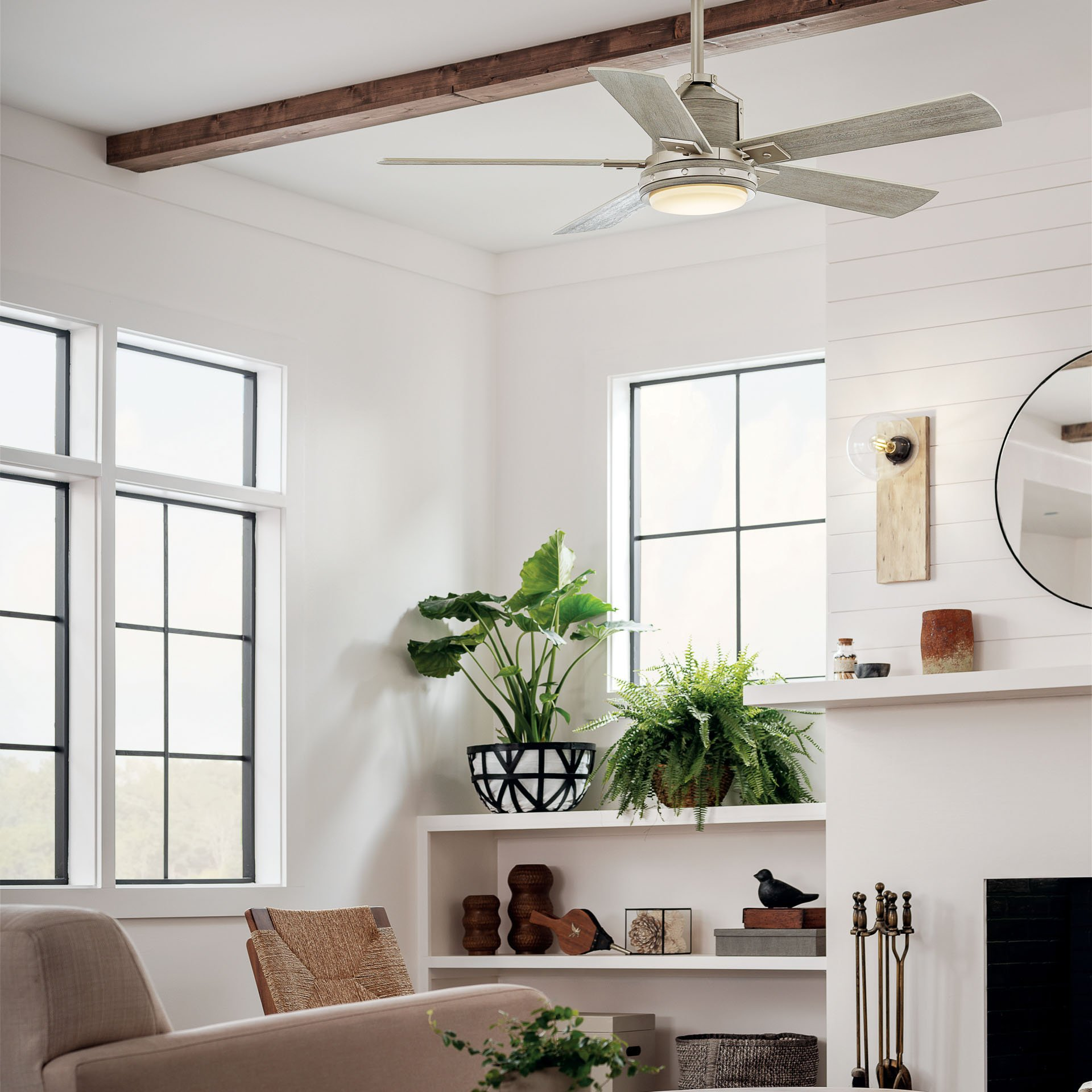 Colerne Maquee Ceiling Fan Living Room
