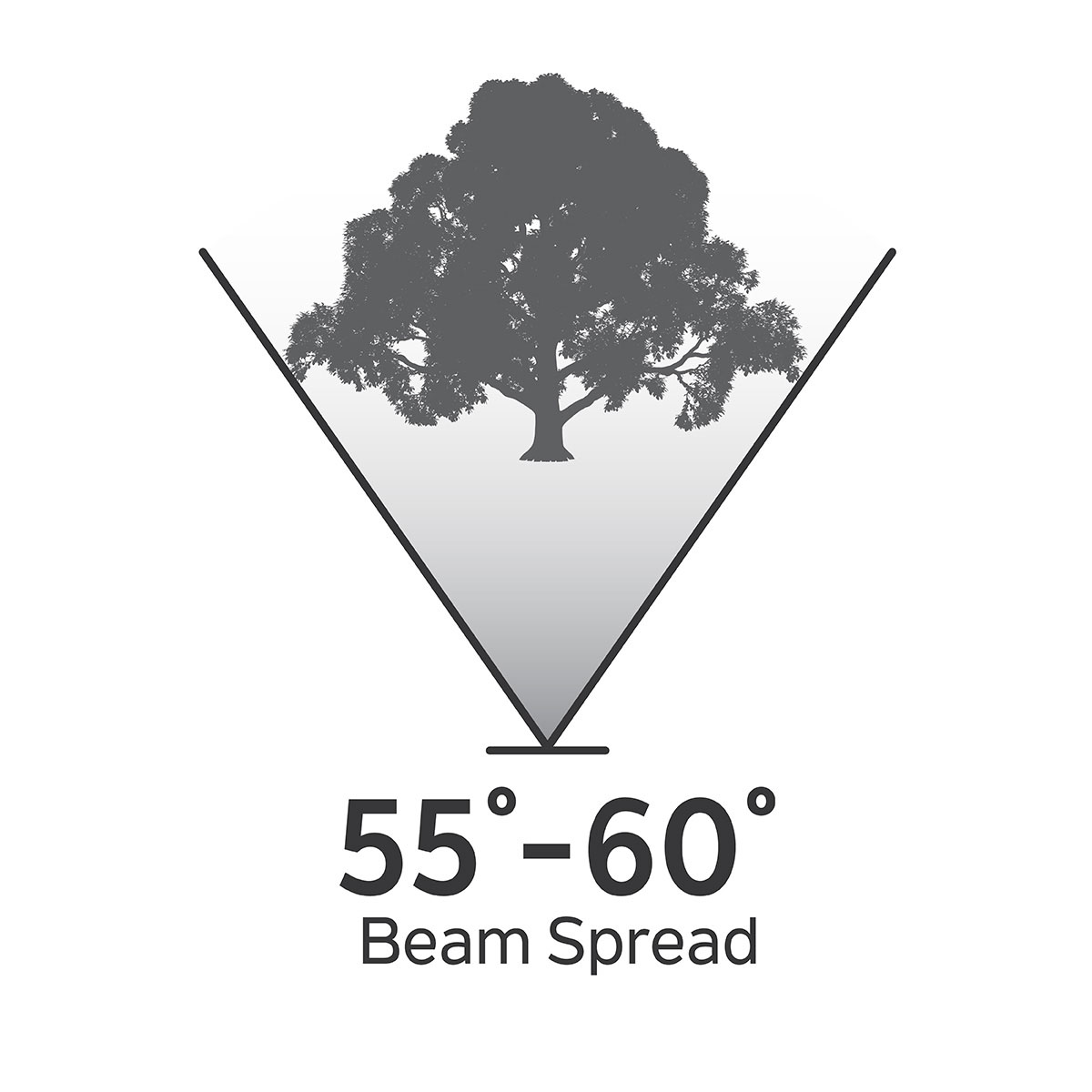 55-60 Degree Beam Spread for Landscape Design Tips
