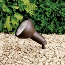 120V Large Compact Accent Textured Architectural Bronze