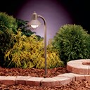 Traditional Marine Lantern 12V Path Light Olde Brick