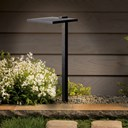 Shallow Shade Large 2700K LED Path Light Textured Black