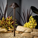 Overlay 3000K LED Path Light Textured Architectural Bronze