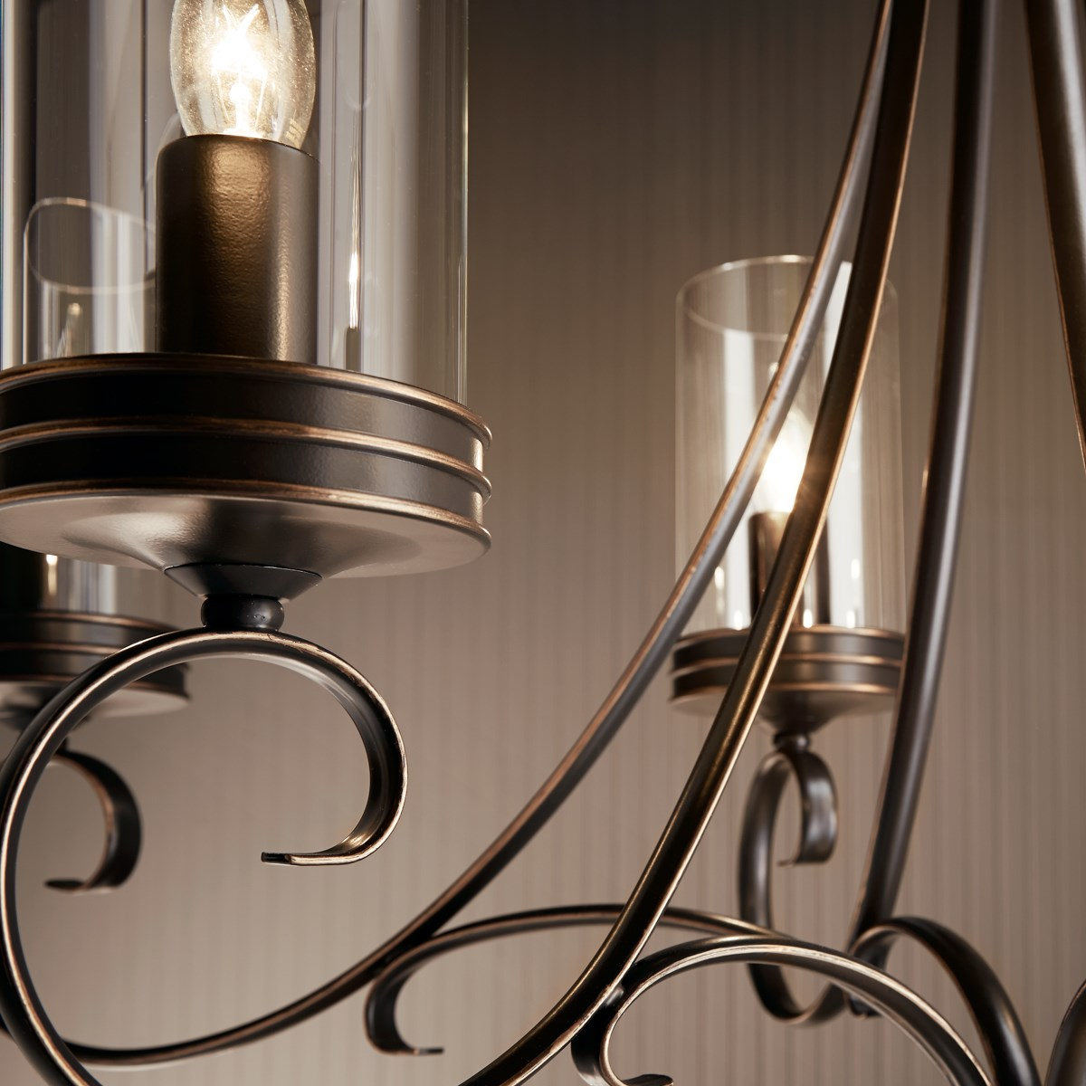 Diana 6 Light Chandelier Olde Bronze®