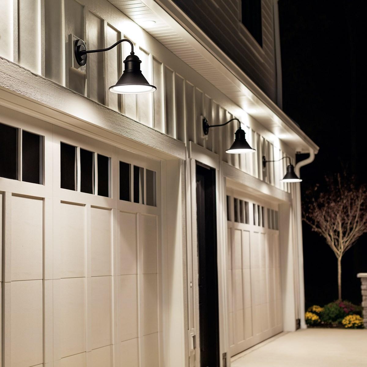 Northland™ 1 Light Wall Light Black