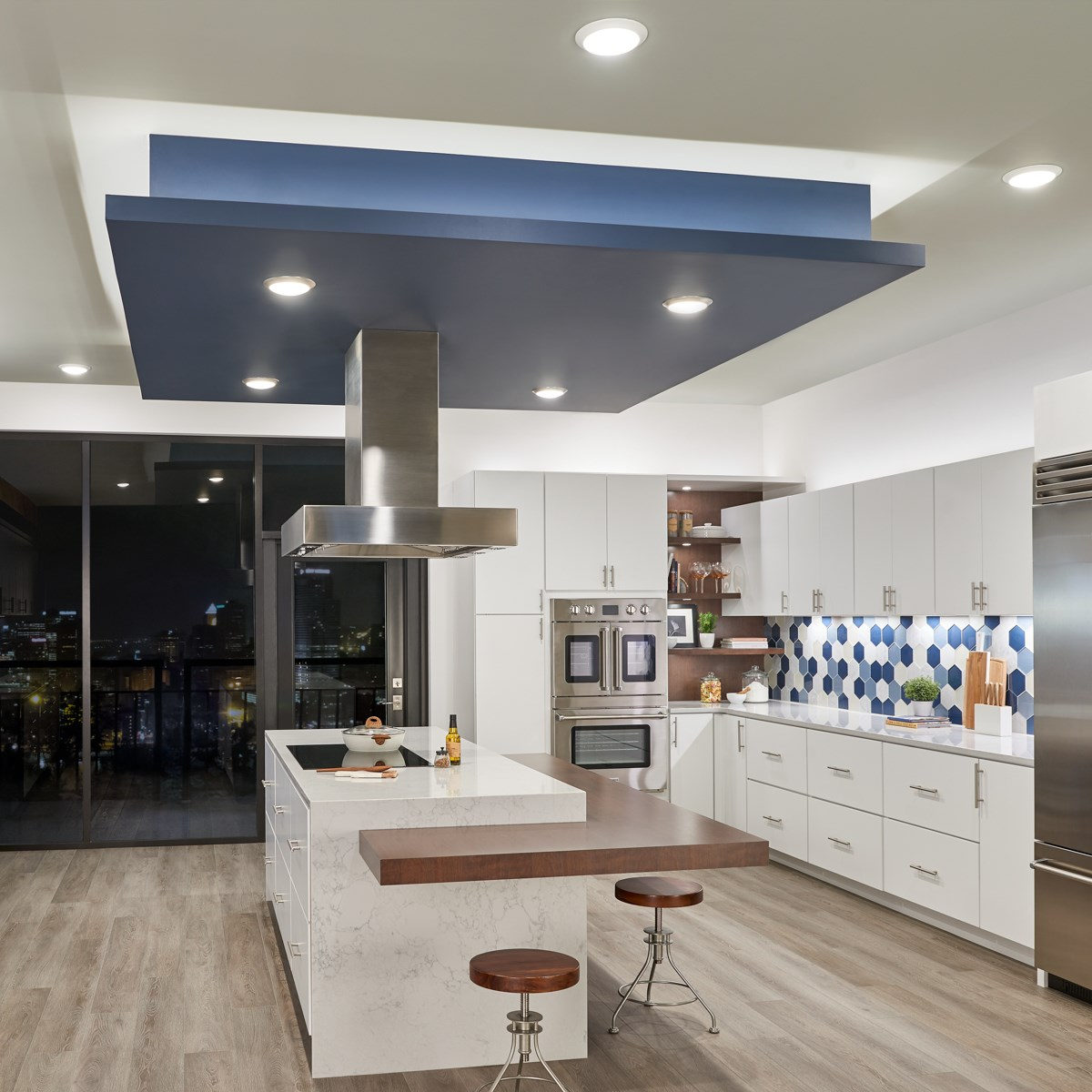 "4U 22"" 3000K LED Cabinet Light Textured White | Kichler ..."