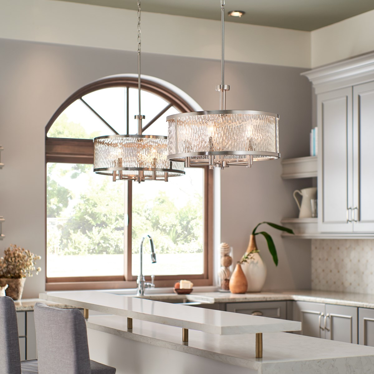 Marita 5 Light Pendant Brushed Nickel Kichler Lighting