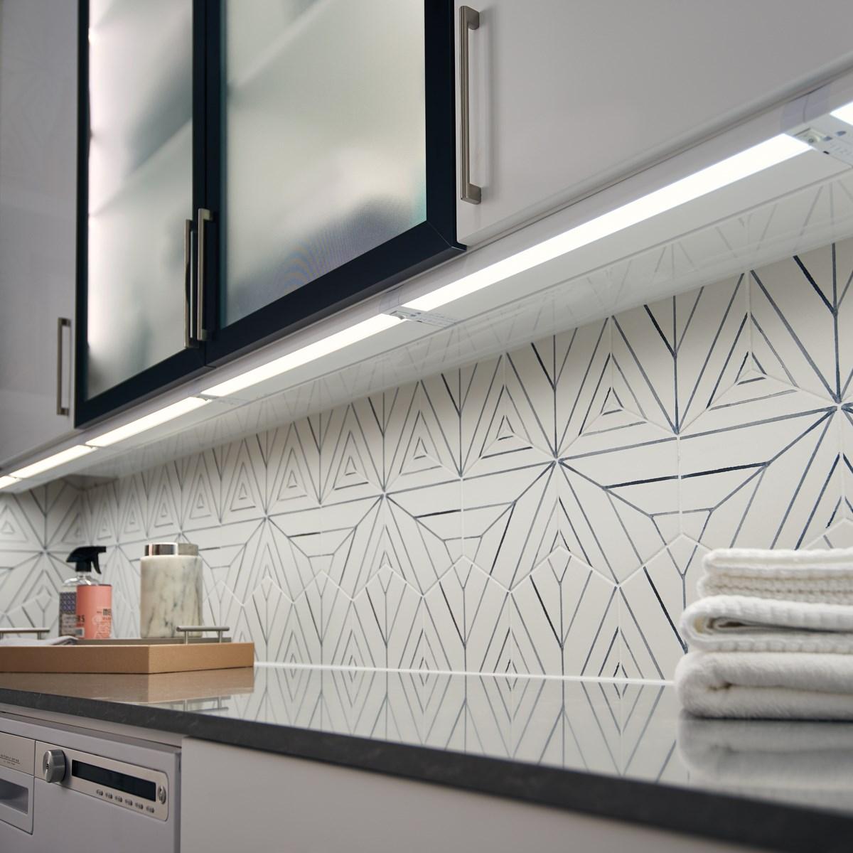 4u 22 3000k Led Cabinet Light Textured