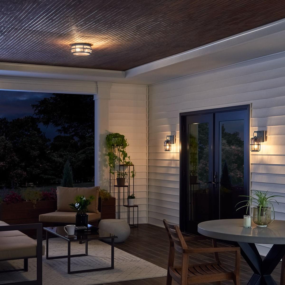 Montview 5 Quot Wall Light Weathered Zinc Kichler Lighting