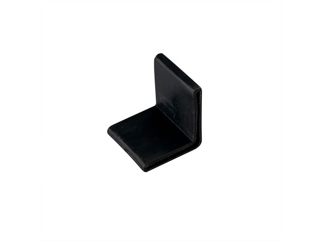 Tape Light 90 Degree Track Endcap Black
