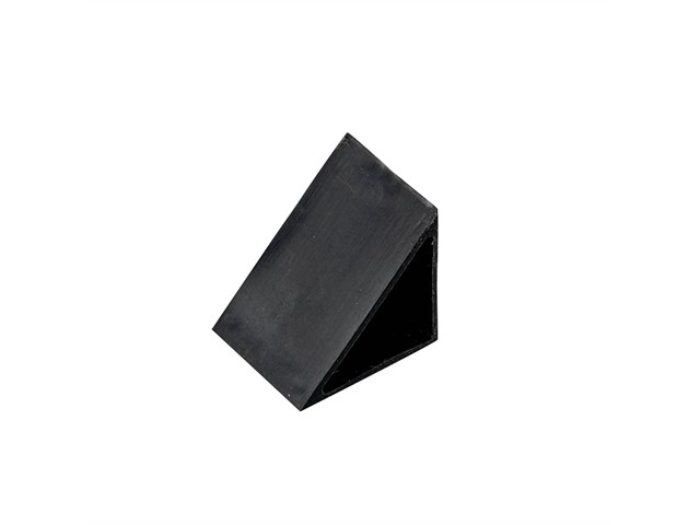 Tape Light 45 Degree Track Endcap Black