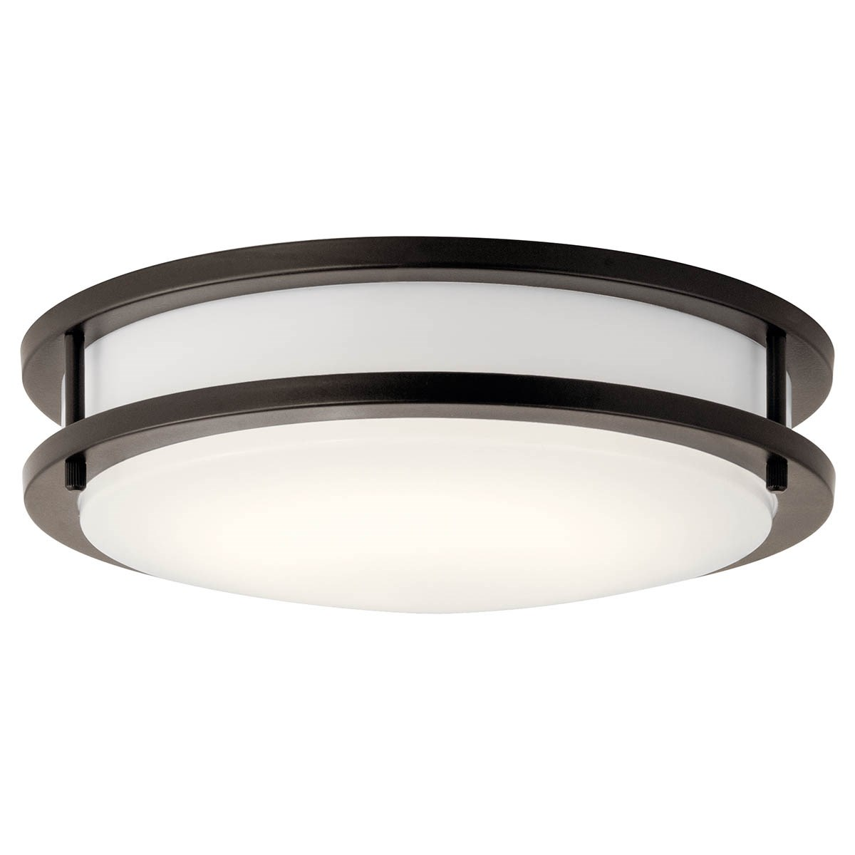 "11.75"" LED Flush Mount Olde Bronze®"
