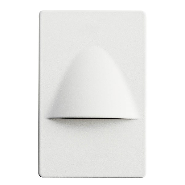 "5"" Dimmable and Screwless LED Step Light White"