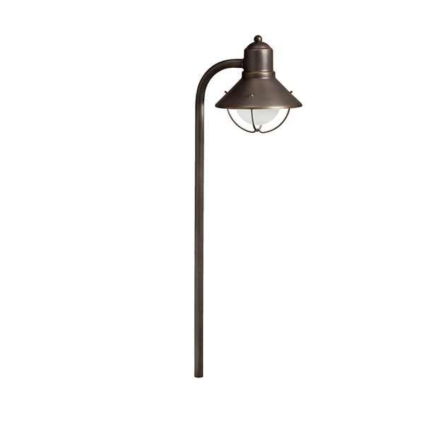 Traditional Marine Lantern 120V Path Light Olde Bronze®