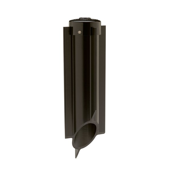 120V Power Post Stake Black