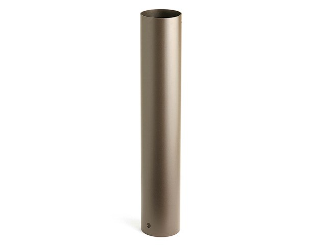 "24"" Bollard Mounting Kit Textured Architectural Bronze"