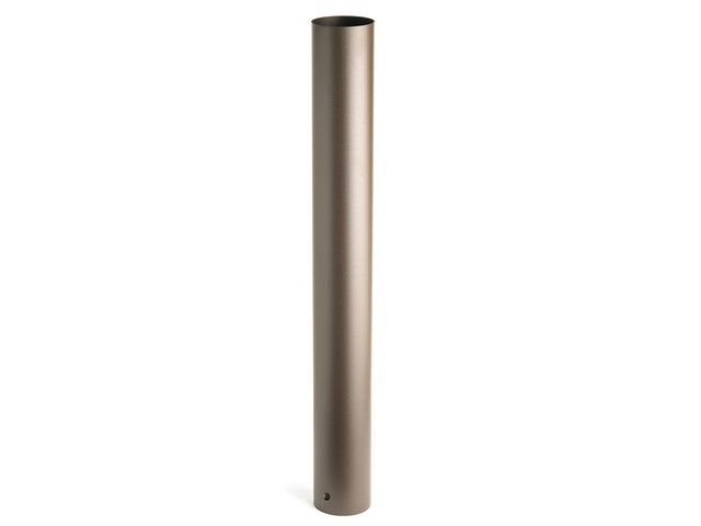"36"" Bollard Mounting Kit Textured Architectural Bronze"