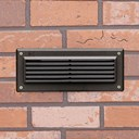 Louvered Brick Light 2700K LED Textured Architectural Bronze