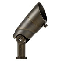 VLO 3000K Small 60 Degree Wide Flood Centennial Brass