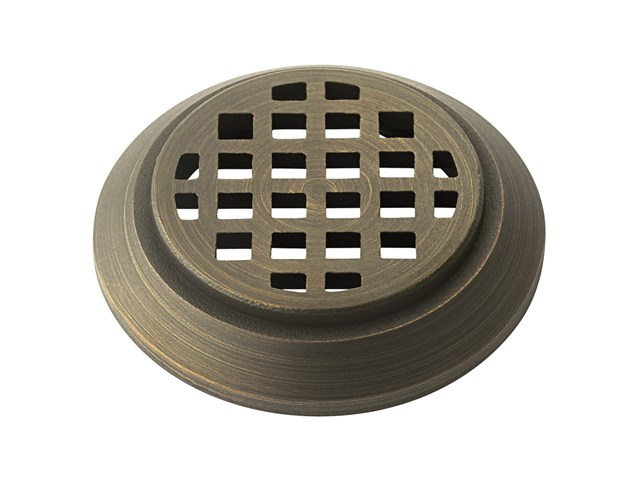 Mini All-Purpose Honeycomb Louver Centennial Brass
