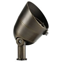 3000K 300 Lumen 35 Degree Flood Centennial Brass