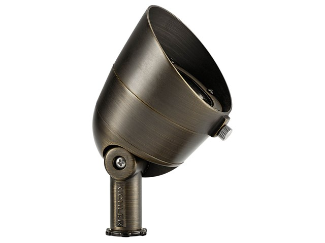 2700K 500 Lumen 35 Degree Flood Centennial Brass