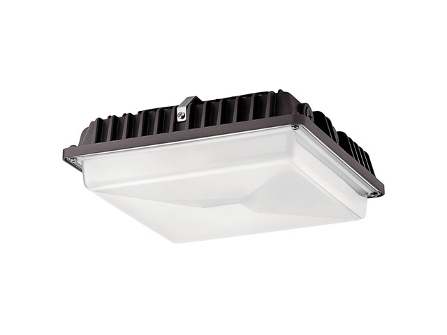 C-Series 4000K 54W Canopy Light Textured Architectural Bronze