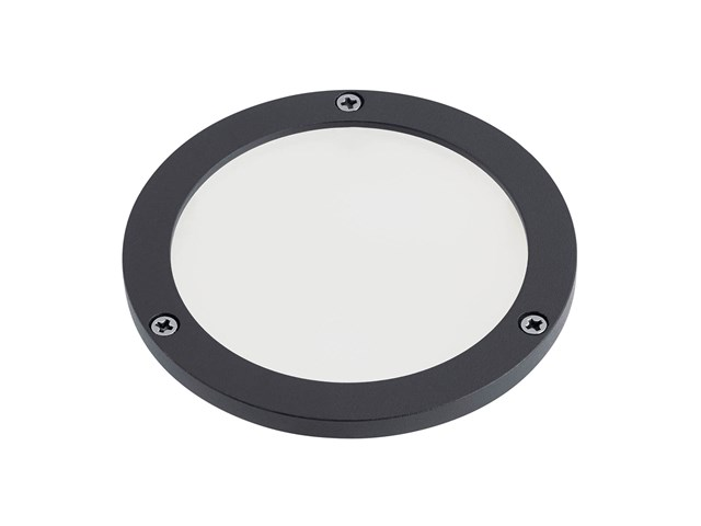 C-Series Large Frosted Lens Textured Black
