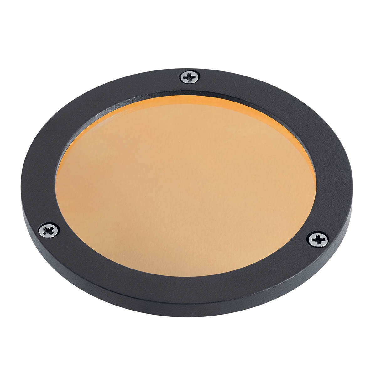 C-Series Large Amber Lens Textured Black