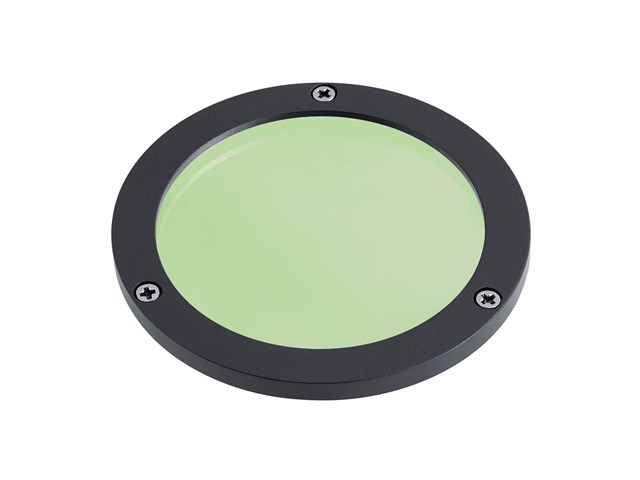 C-Series Large Green Lens Textured Black