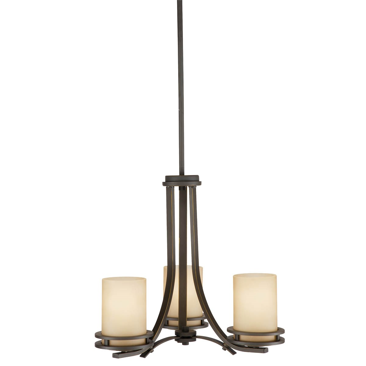 Hendrik 3 Light Chandelier Olde Bronze®