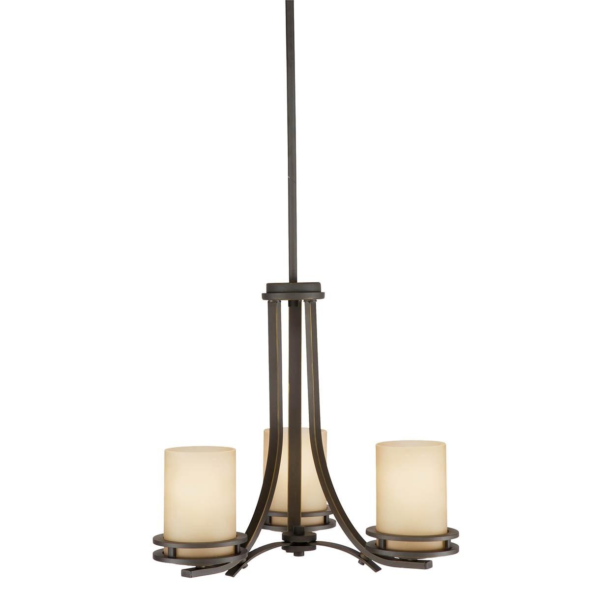 Hendrik 3 Light Chandelier Olde Bronze Kichler Lighting