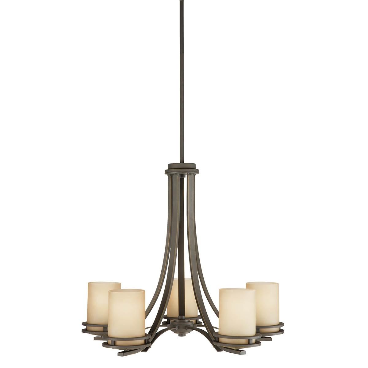 Hendrik 5 Light Chandelier Olde Bronze Kichler Lighting