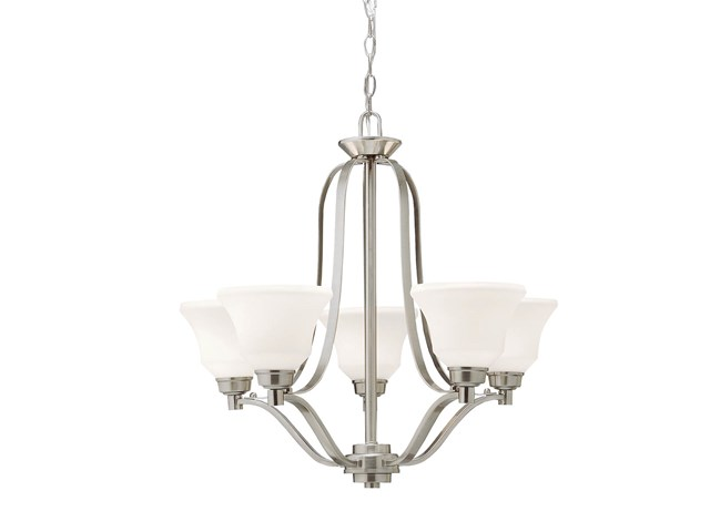 Langford™ 5 Light Chandelier Brushed Nickel