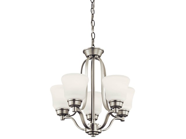 Langford™ 5 Light Mini Chandelier Brushed Nickel
