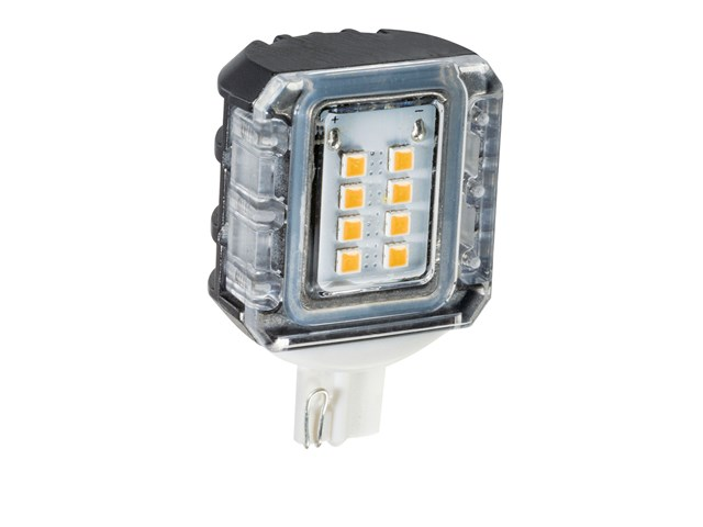 3000K LED T5 Side Mount 1.5W 120-Degree Clear