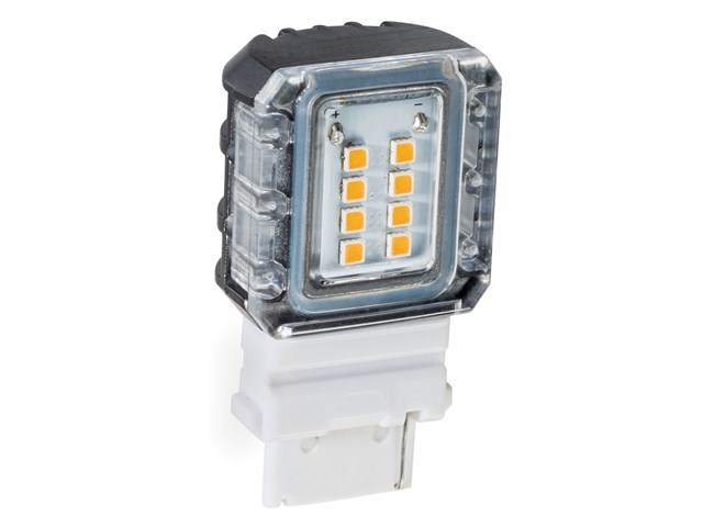 3000K LED S8 Side Mount 1.5W 120-Degree Clear