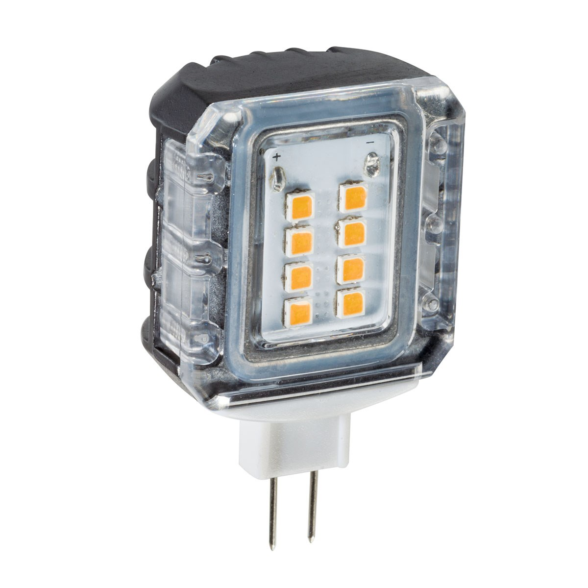 3000K LED T3 Side Mount 1.5W 120-Degree Clear