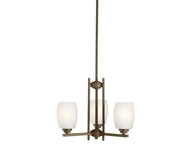 Eileen™ 3 Light Mini Chandelier Olde Bronze®
