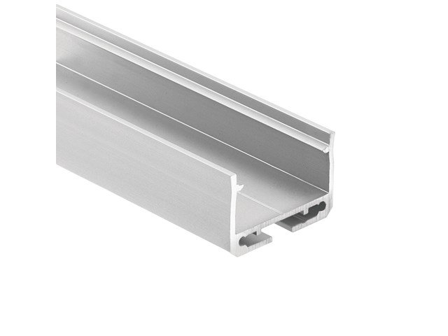TE Enhanced Series Standard Depth Surface Channel Silver