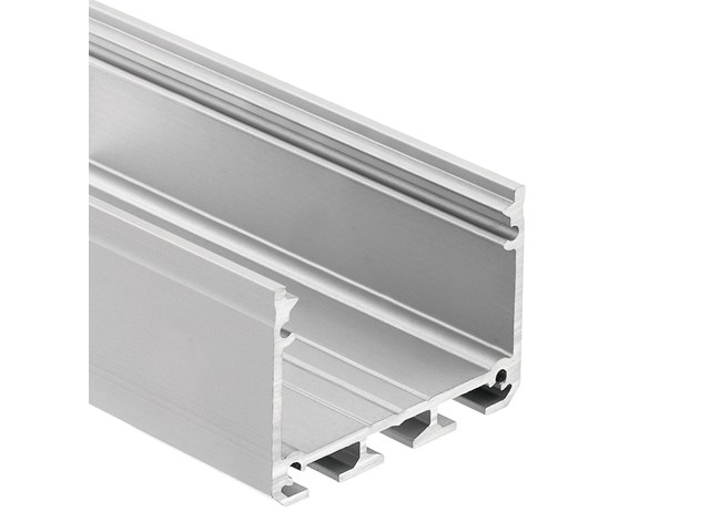 TE Enhanced Series Deep Well Wide Surface Channel Silver