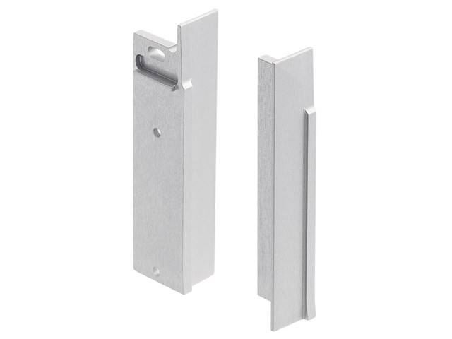 TE Pro Series Thin Contemporary Corridor Channel End Cap