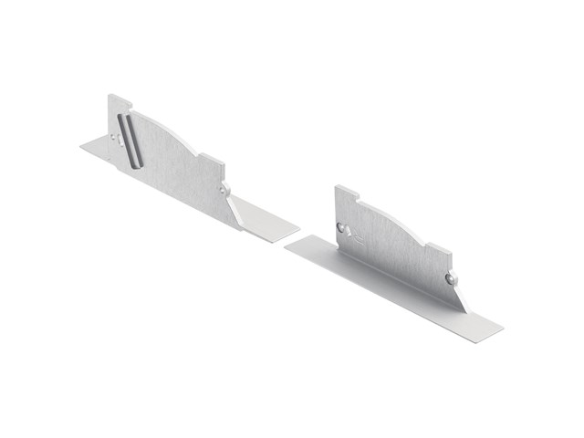 TE Pro Series Arches Ceiling-Edge Channel End Cap